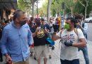 Entrevista a Javier Ortega Smith en su primera aparición en las protestas contra el Gobierno