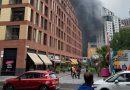 Un posible atentado en Londres incendia la estación de Elephant & Castle
