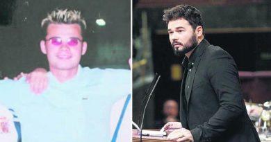 El pasado de Gabriel Rufián: fue despedido por «absentismo laboral»