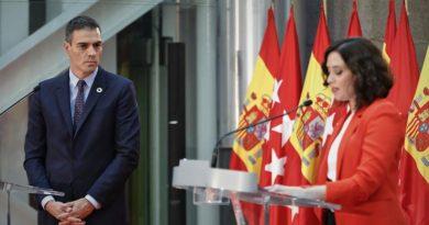 Ayuso sobre Sánchez: «Tenemos el Gobierno más autoritario desde la dictadura»